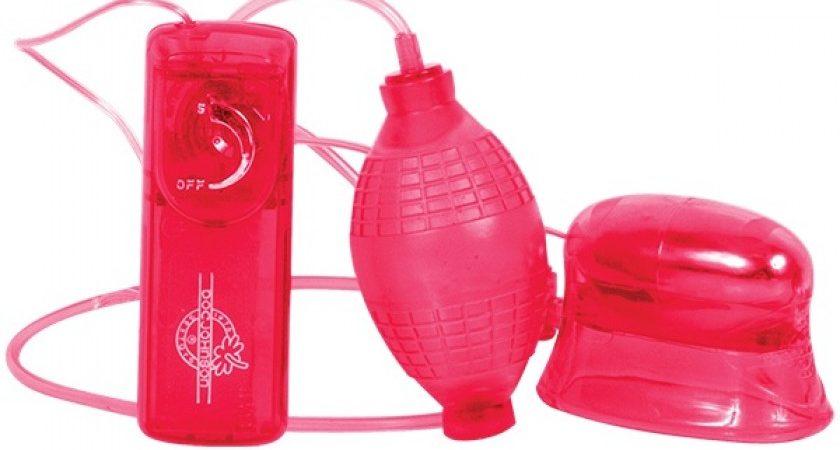 Красная вакуумная помпа для вагины