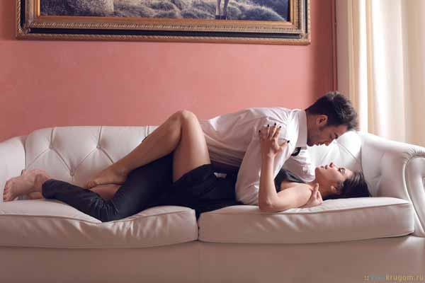романтичная классическая позиция в сексе