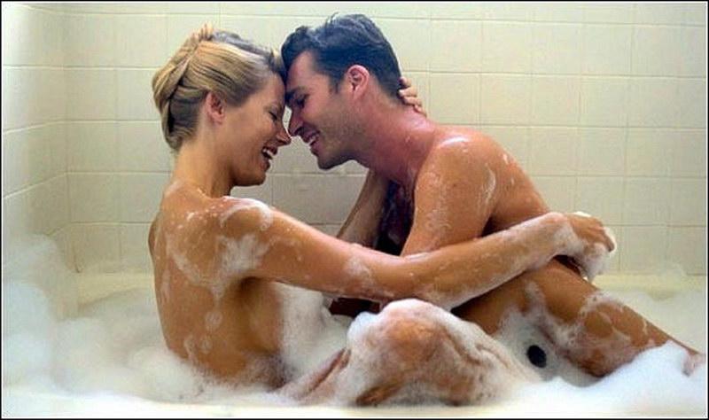 любовь и секс в ванне